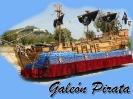 Carroza galeón pirata