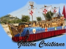 Carroza galeón cristiano