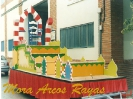 Carroza Mora arcos rayas