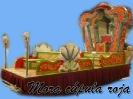 Carroza Mora cúpula roja