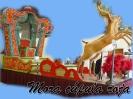 Carroza Mora cúpula roja renos