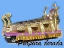 Carroza Púrpura dorada